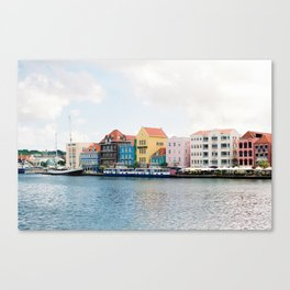 Willemstad, Curacao Canvas Print