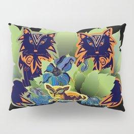 Deer watching Pillow Sham