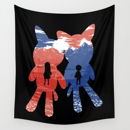 Ame and Yuki Wall Tapestry