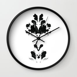 Lotus Therapy Print Wall Clock
