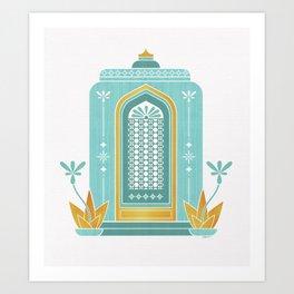 Moroccan Doorway Art Print