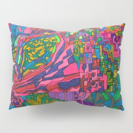 Many Exciting Shapes and Colors All in One Pillow Sham