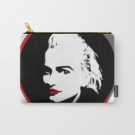 Read Lips Face Carry-All Pouch