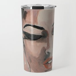 When my eyes Travel Mug