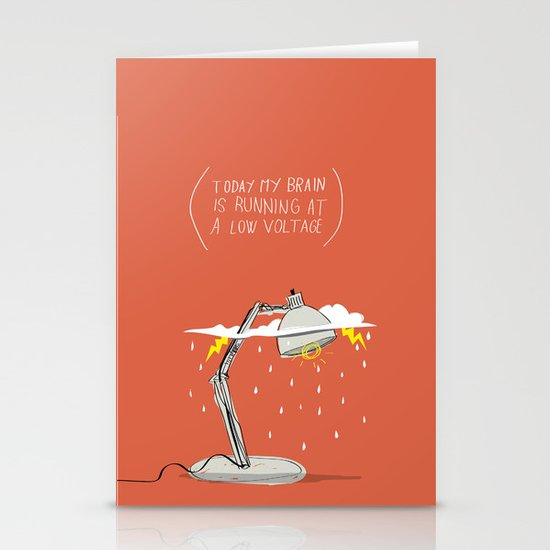 LOW VOLTAGE Stationery Cards