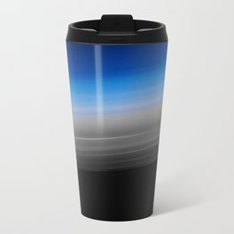 Blue Gray Smooth Ombre Travel Mug