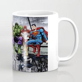 Superhero Lunch Meetup Coffee Mug