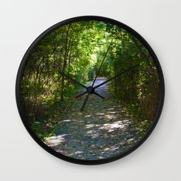 Mt Robson as seen from Kinney lake in the Canadian Rockies Wall Clock