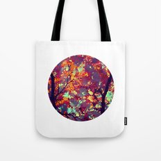 autumn tree X Tote Bag