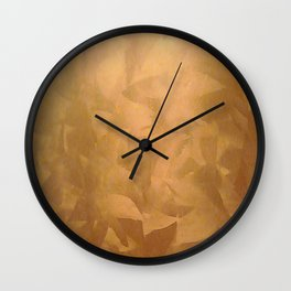 Beautiful Copper Metal - Corporate Art - Hospitality Art - Modern Art Wall Clock