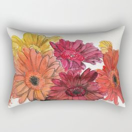 Autumn Daisies Rectangular Pillow