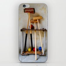 Anyone For Croquet? iPhone Skin