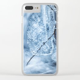 Ice and Water, No. 1 Clear iPhone Case