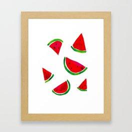 Las Sandias Framed Art Print