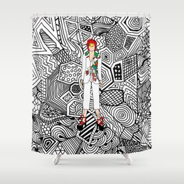 Heroes Fashion 7 Shower Curtain