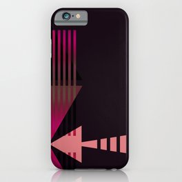 Arrow Types IB iPhone Case