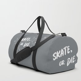 Skate Or Die Drawing Duffle Bag