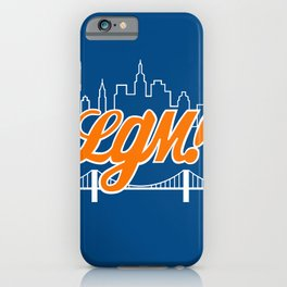 Let's Go Mets iPhone Case