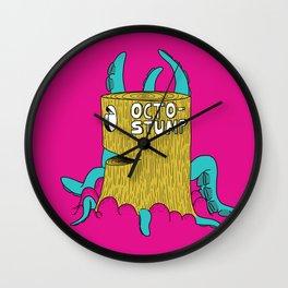 Octostump Wall Clock