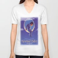neverland V-neck T-shirts featuring Don't sell Neverland by Brooke Shane