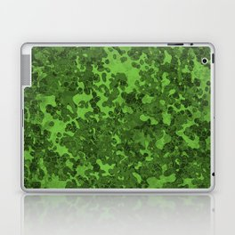 Harlequin Green Hybrid Camo Pattern Laptop & iPad Skin