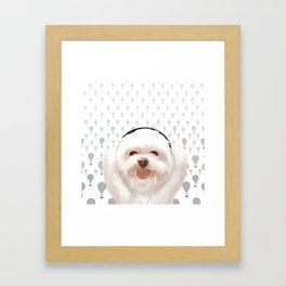 Let's Music Framed Art Print