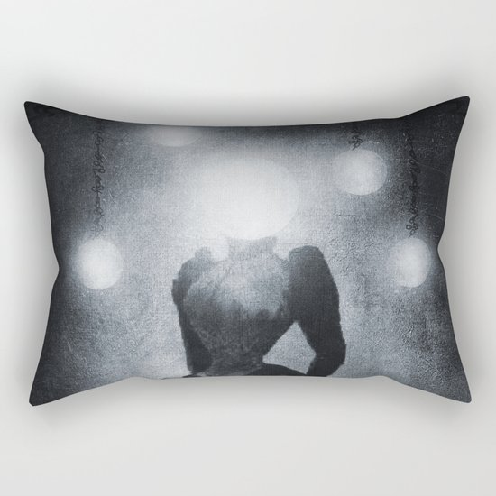 Lady of the Light Rectangular Pillow