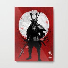 samurai guardian Metal Print