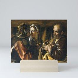 The Denial of Saint Peter Mini Art Print