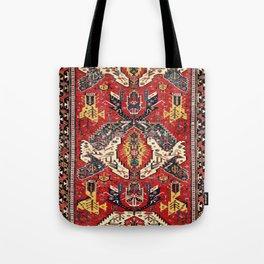 Dragon Sumakh Antique East Caucasus Kuba Rug Print Tote Bag