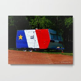 The Acadien Camper Metal Print