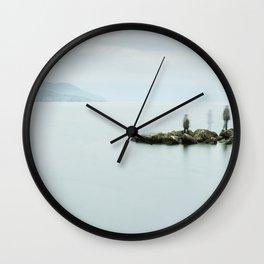 Calm At the Bay Wall Clock
