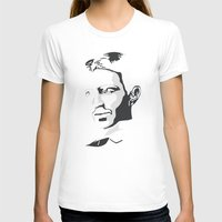 tesla T-shirts featuring Nikola Tesla by The Cracked Dispensary