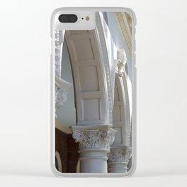 Columns Clear iPhone Case