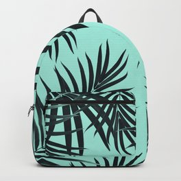 Palm Leaves Pattern Summer Vibes #7 #tropical #decor #art #society6 Backpack