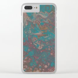 Strolling Along Clear iPhone Case