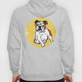 Bulldog Portrait Hoody