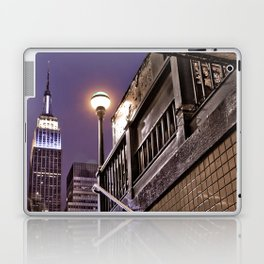 Empire State Subway - New York Photography Laptop & iPad Skin