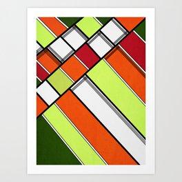 Lined II Art Print