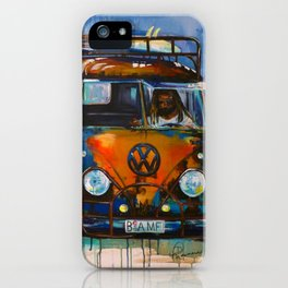 BAMF Bus iPhone Case