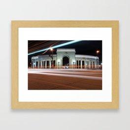 No City Sleeps Framed Art Print
