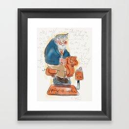 Jumpin' Jack Roper Framed Art Print