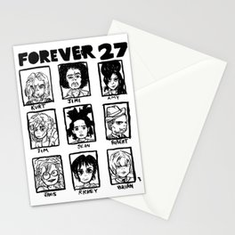 Forever 27 Stationery Cards