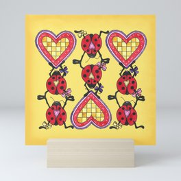 Love Bugs Mini Art Print