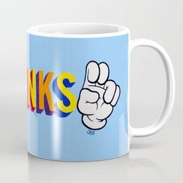 """""""Thanks"""" Coffee Mug"""