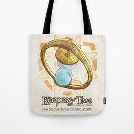Keepers of Time Comic Hourglass Logo Tote Bag