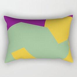 Minimalism Abstract Colors #15 Rectangular Pillow