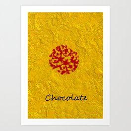Candy Wrapper Art Print