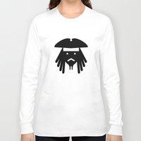 sparrow Long Sleeve T-shirts featuring sparrow by atipo