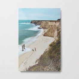 Coastline of Davenport Metal Print